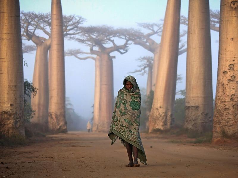 girl-baobabs-madagascar